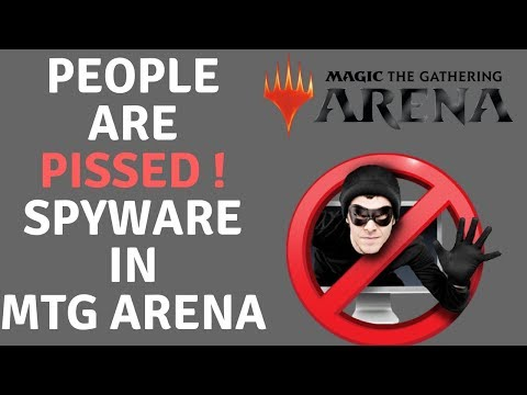 Spyware potentially installed with MTG Arena :: Magic Duels