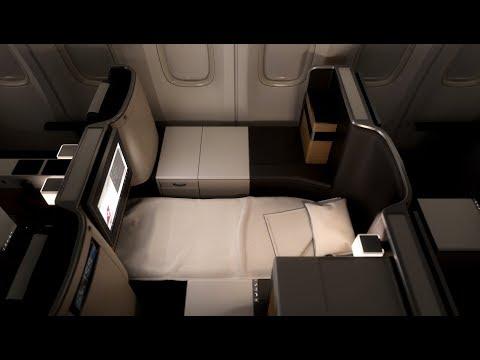 SWISS Boeing B777 Business Class San Francisco to Zürich