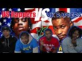AMERICANS REACT | US RAPPERS 🇺🇸 VS UK RAPPERS 🇬🇧 2020