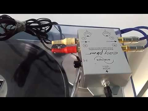 PREAMPLIFICATORE PHONO MM ANALOGIS