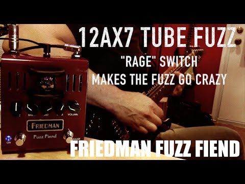 FRIEDMAN Fuzz Fiend Kytarový efekt