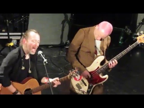 "Thom Yorke & Flea  ""Default"" - Live @ Pathway to Paris - 04/12/2015 [HD]"