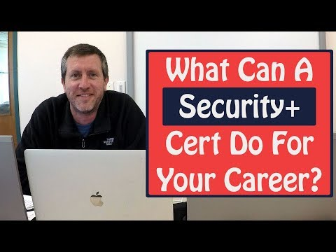 What Can A Security Plus Certification Do For Your Career ...
