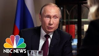 Confronting Russian President Vladimir Putin, Part 4   Megyn Kelly   NBC News