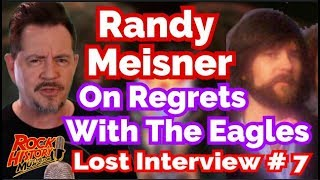 <b>Randy Meisner</b> Remembers Fist Fight With Glenn Frey & Other Eagles Regrets