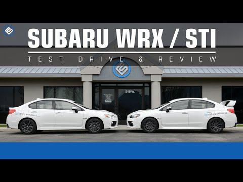 2015 Subaru WRX vs Subaru WRX STI Review
