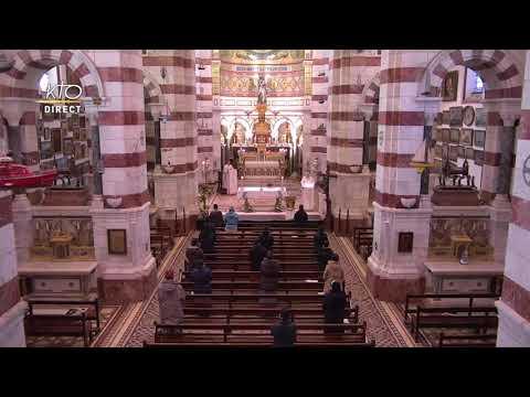 Messe du 19 avril 2021 à Notre-Dame de la Garde