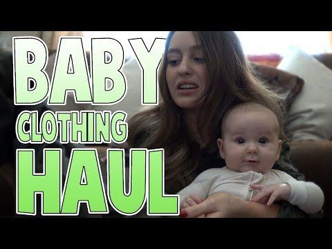 Baby Clothing Haul | Family Baby Vlogs