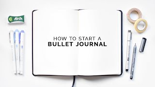 how to start a bullet journal ⭐ a step-by-step guide!