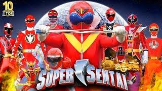 10 Siêu Nhân Đỏ Mạnh Trong Siêu Chiến Đội Super Sentai