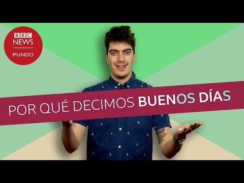 Video: ¿Por qué los saludos en castellano se construyen en plural?