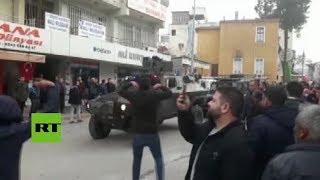 Turquía: Tanques llegan a Reyhanli después de que un misil fuera lanzado desde territorio sirio