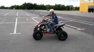 preview picture of video 'Yamaha Raptor 700R Kalisz'