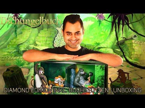 Das Dschungelbuch | Diamond Edition inkl.  Buchstützen | Unboxing