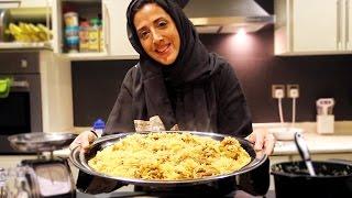 Arabic Lamb & Rice Food to Wow Your 5 Guests | وصفة خطيره لرز المغازليه بللحم تكفي لي ٥ اشخاص