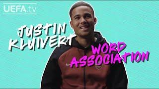 JUSTIN KLUIVERT Plays WORD ASSOCIATION