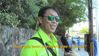 Travelers' Voice of Kyoto KINKAKU-JI Area Interview 005