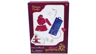 Our Generation Leaps And Bounds Deluxe Outfit Set 18 Inch Doll Playset Unboxing Review