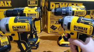 Dewalt 20v max brushless and 20v max XR brushless comparison