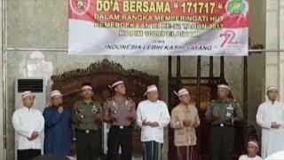 Selawat Bergema di Acara Doa Bersama HUT Kemerdekaan di Kabupaten Tanahlaut