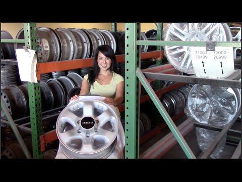 Factory Original Isuzu I-280 Rims & OEM Isuzu I-280 Wheels – OriginalWheel.com