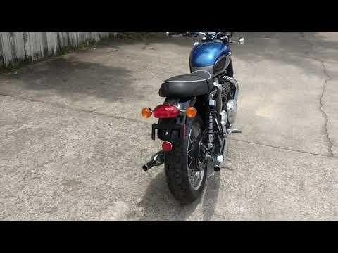 2022 Triumph Bonneville T120 in Charleston, South Carolina - Video 1