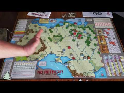 No Retreat! The Russian Front Review - The Players' Aid