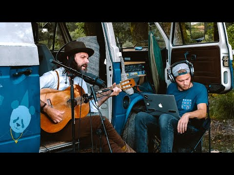 Guy spends 2 years driving around Europe in his van rigged as a studio to record street musicians