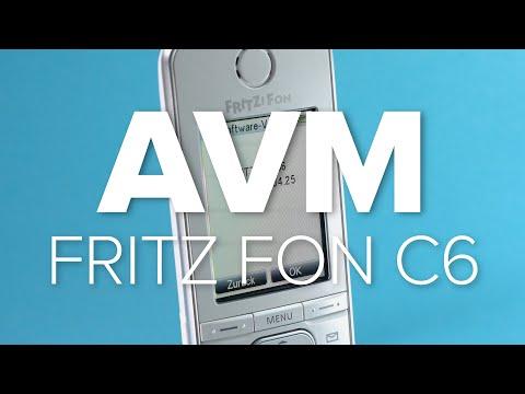 AVM Fritz Fon C6: Schnurloses Telefon im Test   deutsch