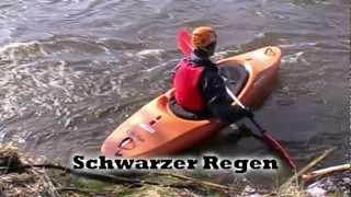 preview picture of video 'Schwarzer Regen - Bärenloch - Kajaktour'