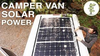 Van Life - Our Amazing Stealth Solar Power Set up!  Off Grid Camper Van | Kholo.pk