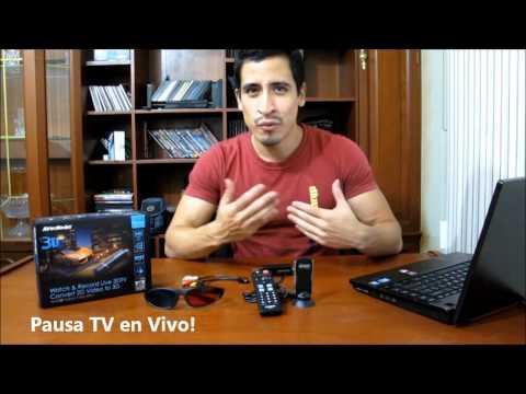 Mira TV Digital HD 3D en tu PC Sintonizador USB Hibrido AVer3D Hybrid Volar XPro H8693D AVerMedia