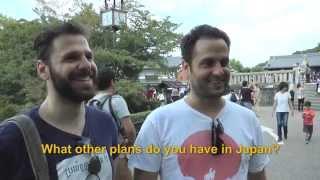 Travelers' Voice of Kyoto: KIYOMIZU DERA Area Interview013 Autumn01