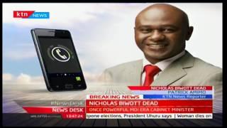 BREAKING NEWS: Nicholas Kiprono Arap Biwott Dead