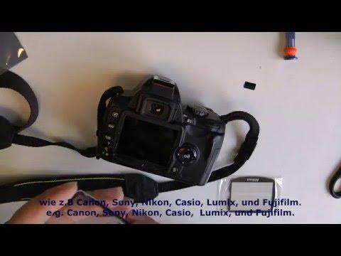 7N03 Nikon D40 D40x Schutzglas