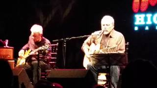 Hot Tuna Acoustic Duo - Bar Room Crystal Ball -  Highline Ballroom 11/30/14. NYC.