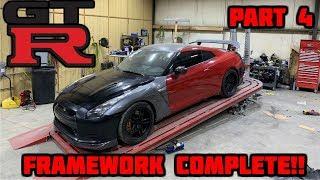 Rebuilding a Wrecked Nissan GTR Part 4