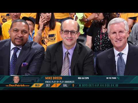 ESPN's Mike Breen on Calling His 14th NBA Finals| The Dan Patrick Show | 5/29/19
