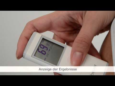 Quick Start Video des mobilen EKG-Geräts ME 80 von Beurer