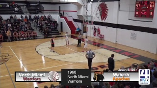 North Miami Boys Basketball vs Wabash