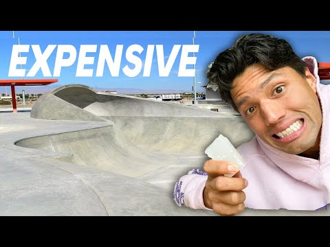 This MASSIVE Skatepark is WAY TOO EXPENSIVE!