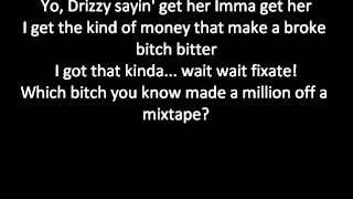 """Drake Feat. Nicki Minaj  """"up all night"""" with lyrics"""