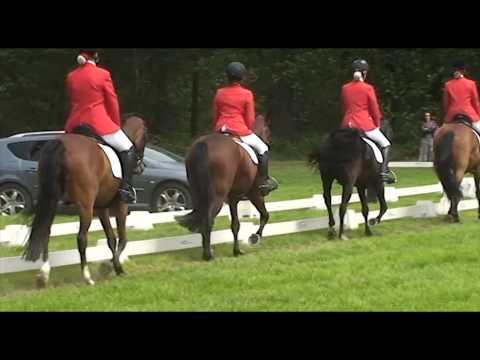 Saxe Gotha 6 tal CDE klasse L afdelingsdressuur 28-5-2011