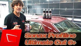 Sonax Profiline Schleifpaste Ultimate Cut 6+ Autolack polieren Vorstellung von Richard Hanauer