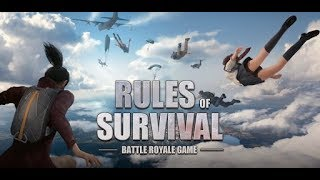Стрим Rules of Survival! Девушка берет топ 1!