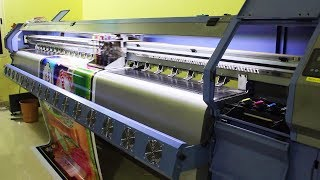 FULLY AUTOMATED FLEX PRINTING MACHINE K3208 / Small Scale IndustrieS