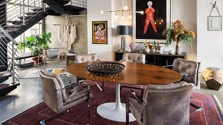 Warm Industrial Loft In Eclectic Style | Interior Design