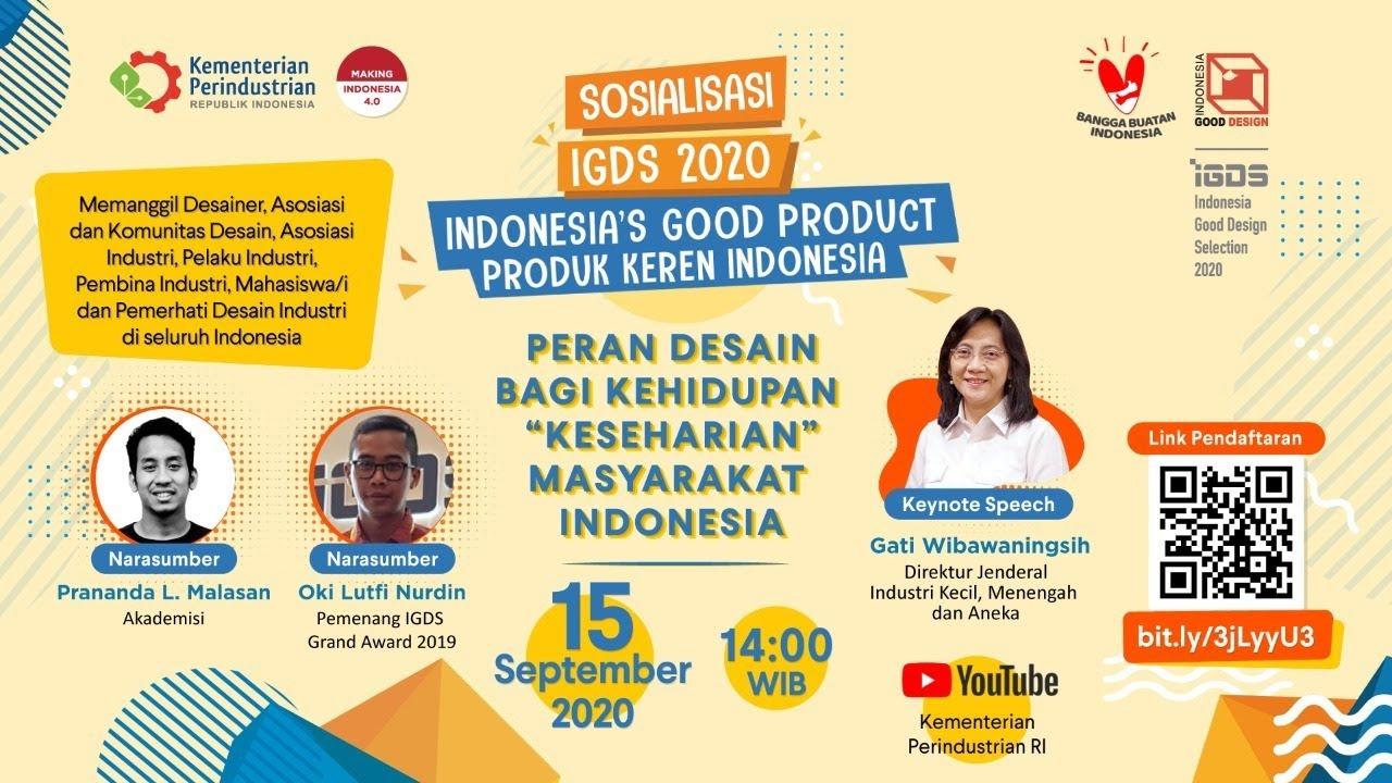 """Peran Desain Bagi Kehidupan """"Keseharian"""" Masyarakat Indonesia"""