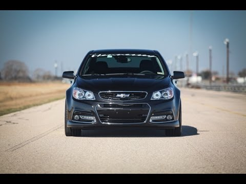 2014 Hennessey Chevy SS Drag Strip Run