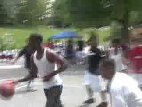 3-on-3 basketball tournament at Barnet Park, Seattle